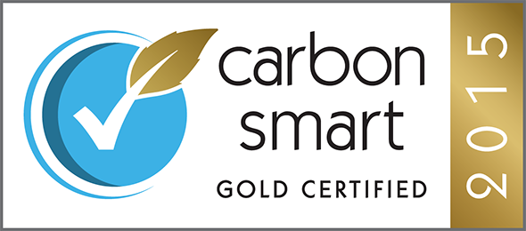Trinity Winchester awarded Gold Carbon Smart