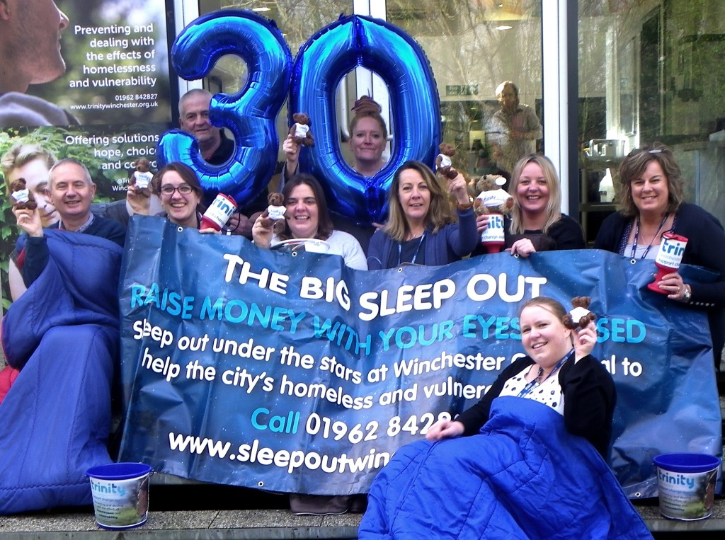 Trinity Winchester launches Big Sleep Out 2016