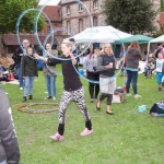 Hula Hooping and Circus Skills in the Inner Close_DaveDodge