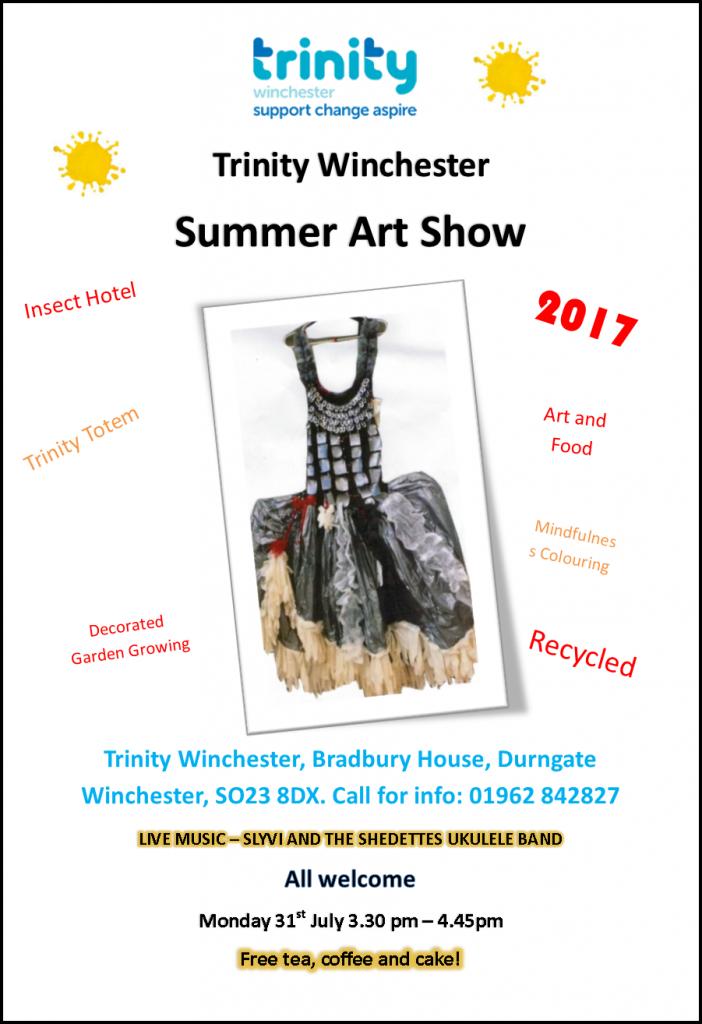 Summer Art Show Poster