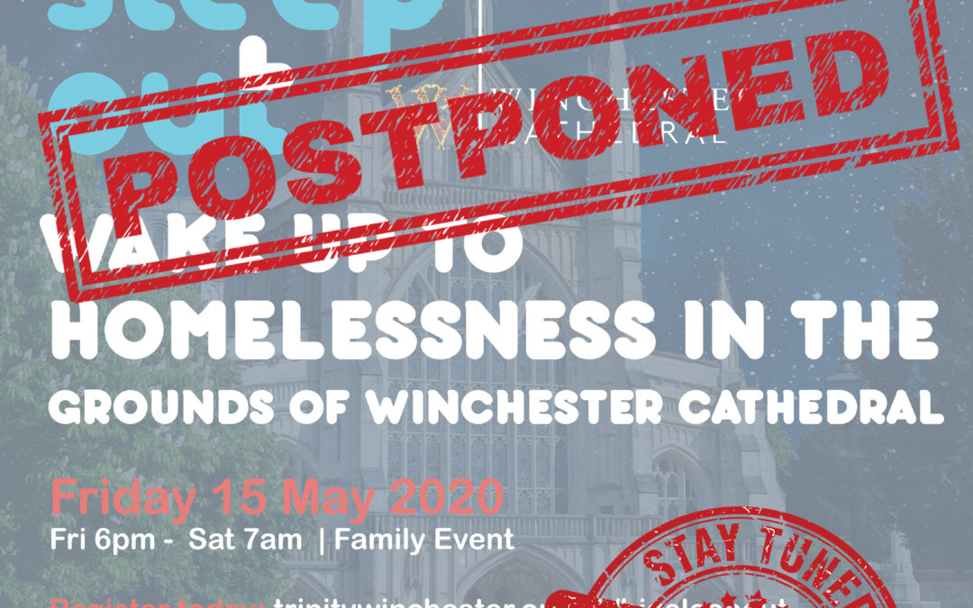 Postponement of Trinity's Big Sleep Out